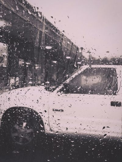 Rainy day Filter Pennsylvania Silvertone Wet Car Rain Drop Window Glass - Material Vehicle Interior Land Vehicle Car Interior Looking Through Window No People Indoors  Transportation Weather Mode Of Transport Windshield Water Rainy Season Day RainDrop EyeEmNewHere