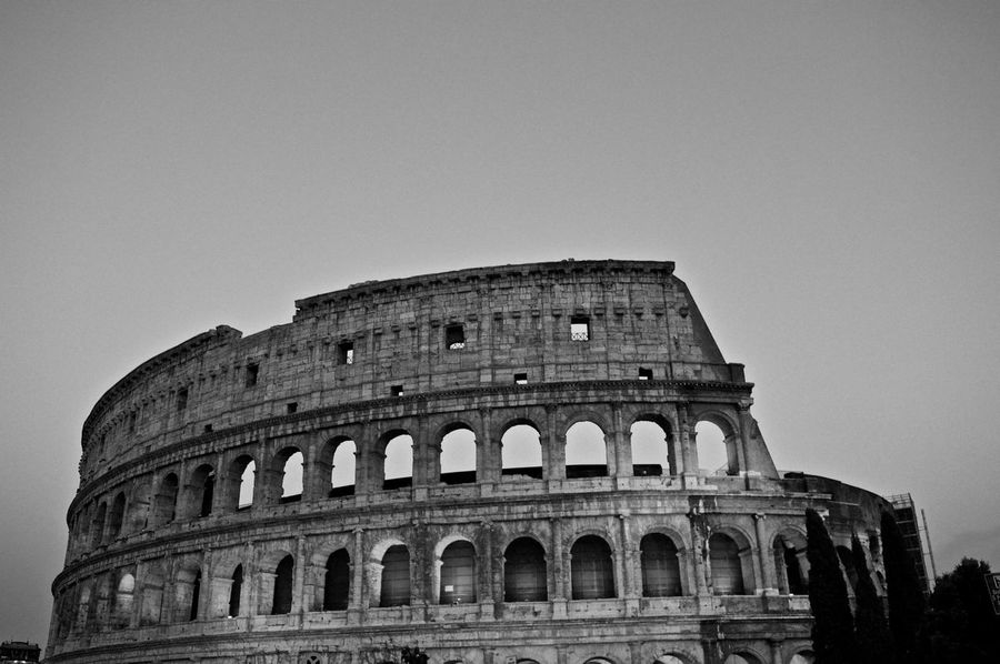 Blackandwhite Holiday Eye4photography  Travel Photography Popular Photos Traveling EyeEm Best Shots Taking Photos Hello World Tadaa Community EyeEm Gallery Rome Italy Ancient Architecture Summer Historical Building Ancient Ancient Ruins Architecture The Colosseum, Rome