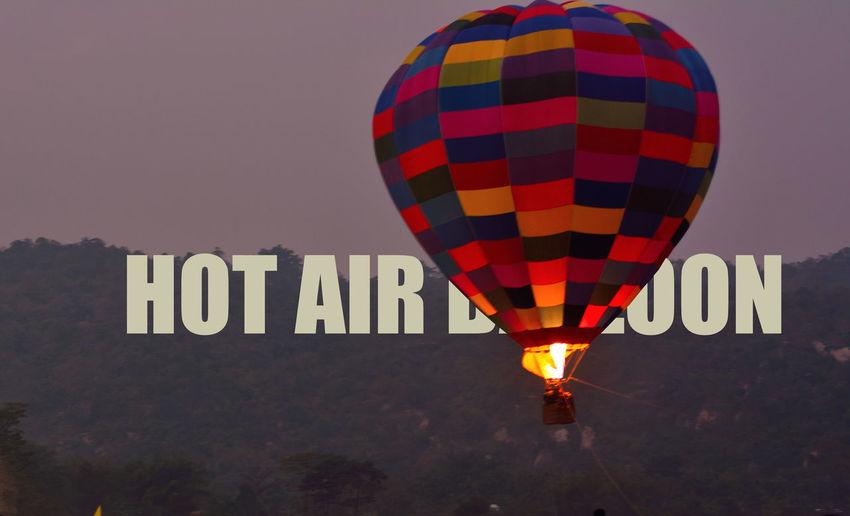 the hot air