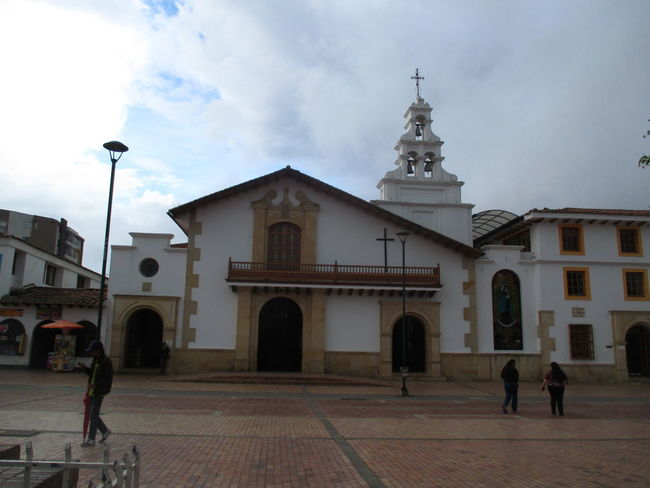 Architecture Building Exterior Built Structure Chiquinquira Cloud - Sky Day Façade Full Length Iglesia Men Outdoors People Place Of Worship Real People Religion Sky Spirituality Travel Destinations Women