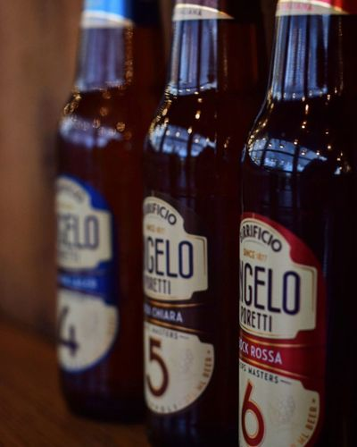 Porettis Bottle Close-up Indoors  Alcohol Drink Beer Poretti Bar