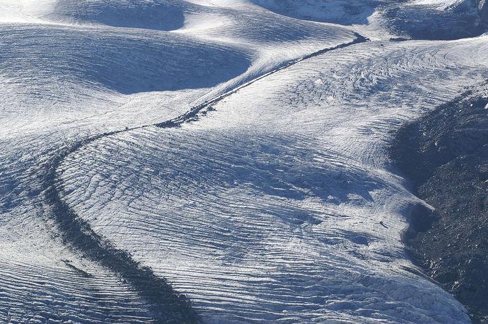 Gornergletscher - Zermatt - Wallis - Schweiz Beauty In Nature Climate Change Extreme Terrain Glacier Gornergletscher Ice Age Klimawandel Landscape Melting Glacier Moraine Moräne Nature Outdoors Schweiz Snow Switzerland Tranquility Wallis Zermatt