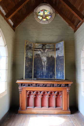 Shot at Montsalvat, Eltham. Altar Architecture Built Structure Day History Indoors  No People Place Of Worship Religion Spirituality Travel Destinations