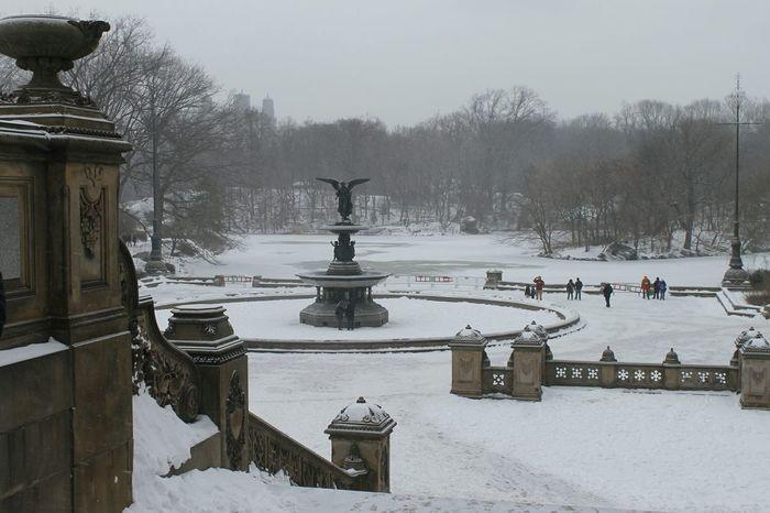 Bethesda Terrace Bethesda Fountain Bethesda Park Central Park New York City Nyc 2014