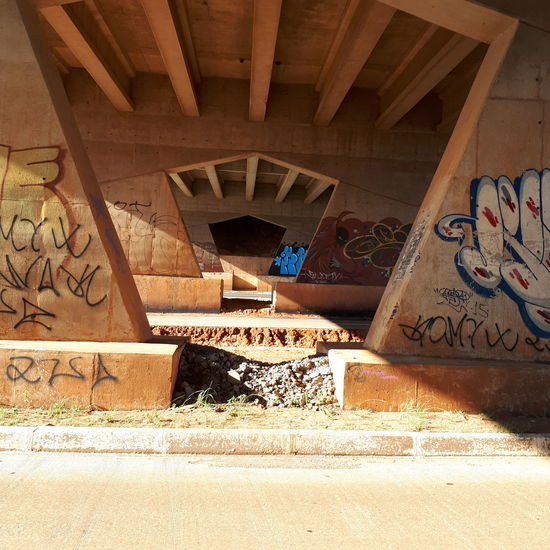 moving car Moving Architectural Column Graffiti Architecture Built Structure Street Art Mural Spray Paint Vandalism Hip Hop Aerosol Can Spray Bottle Steps Underneath Stairway