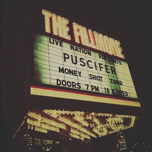 Tonight was fun :) Thefillmoredetroit Puscifer Moneyshottour Detroitrockcity @puscifer