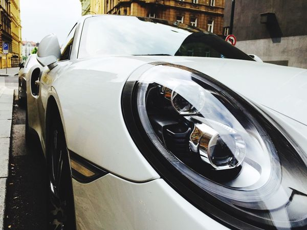 Porche Car Objects Vanishing Point ArtWork Experimental Stretphotography Iphonegraphy Details No People
