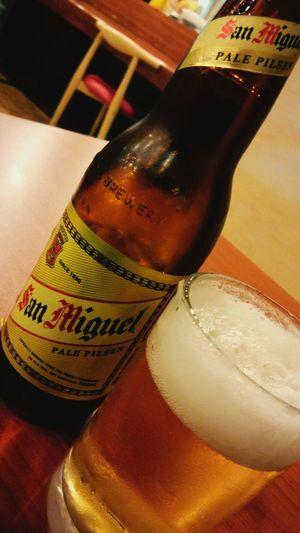 フィリピンではやはりサンミゲルのPILSEN! San Miguel ; PILSEN