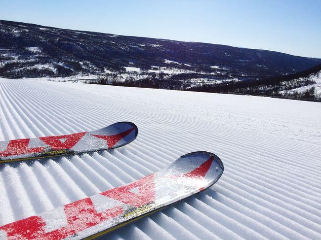 Nice skiing. The mountains at their best, springtime!! Ramundberget Skiing Alpineskiing