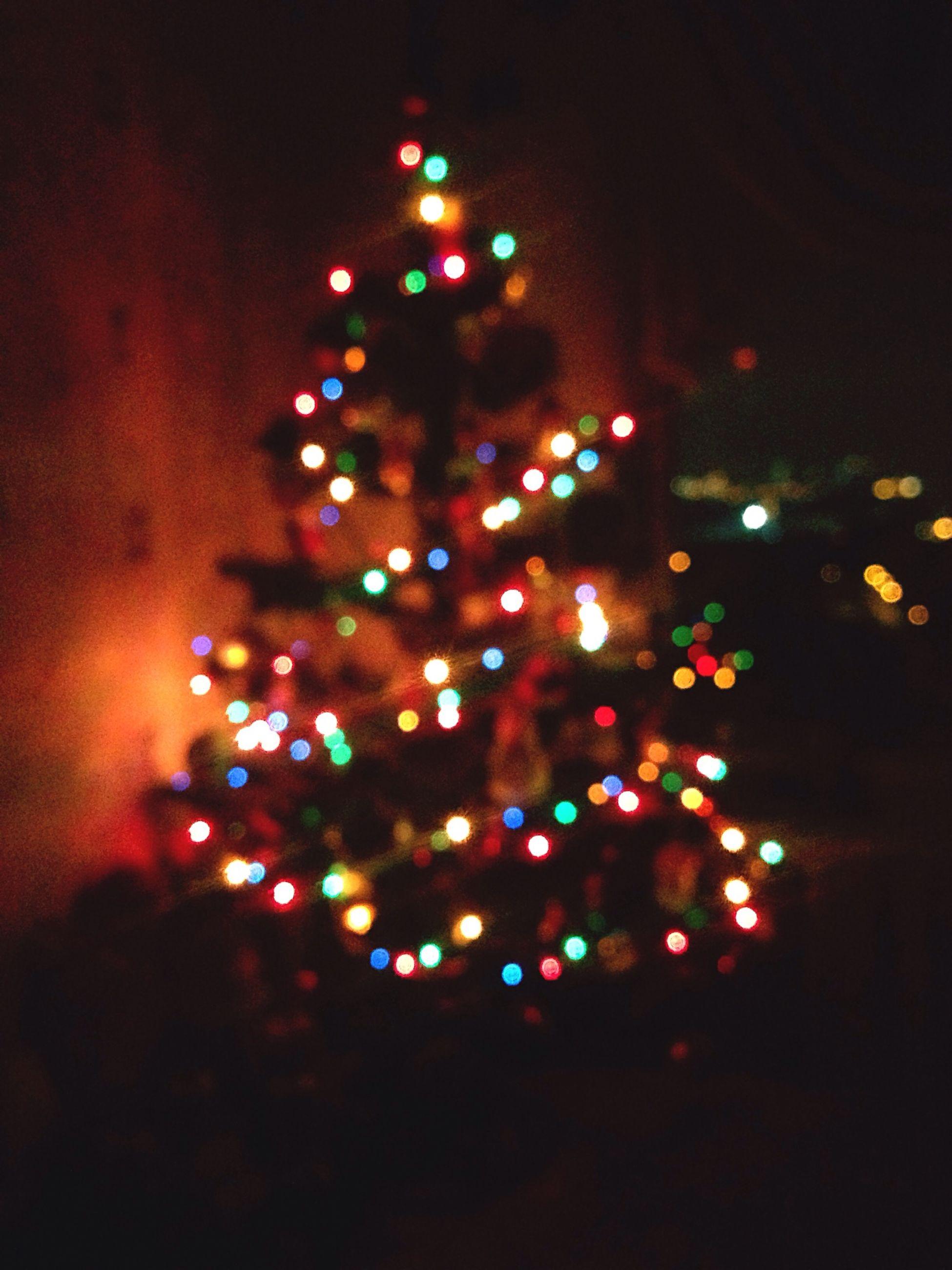 illuminated, multi colored, no people, christmas lights, night, defocused, christmas decoration, celebration, christmas, close-up, indoors, tree, christmas tree, sky
