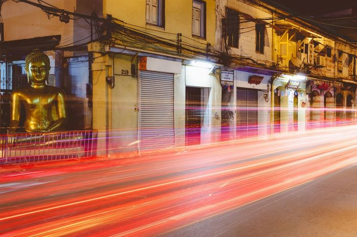 Learn & Shoot: After Dark Light Painting Long Exposure Drive Home