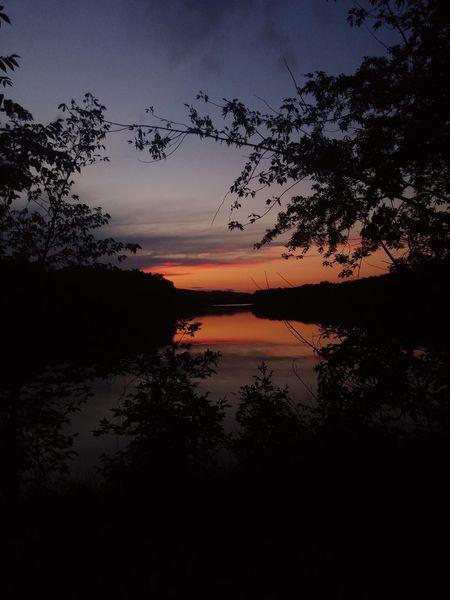HDR Sunset Reflection_collection Sunsetreflections Beautiful Nature Newhampshire