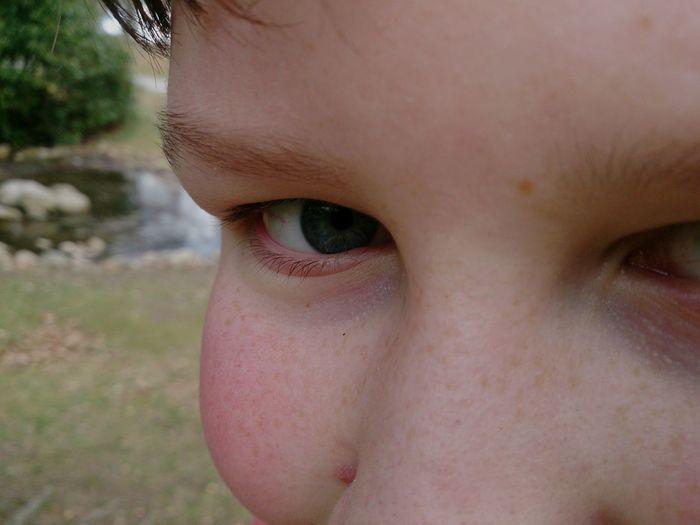Mobilephotography Park Close Up Eye Junior  Son