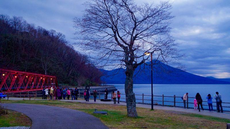 Chitose Japan Traveling Photography Lake View Clouds And Sky Sunset Shikotsu Lake