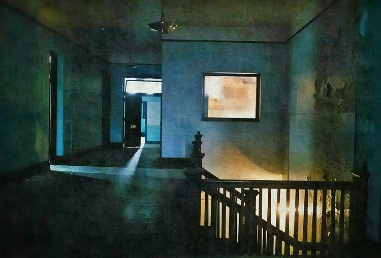 NEM Painterly Beautiful Decay Interior Design Blue NEM Derelict Obsessive Edits NEM Mood Dreaming