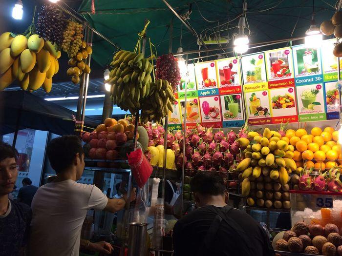 Fruit Fruitdrink Kaosan Road Thailand Street Food Enjoying Life