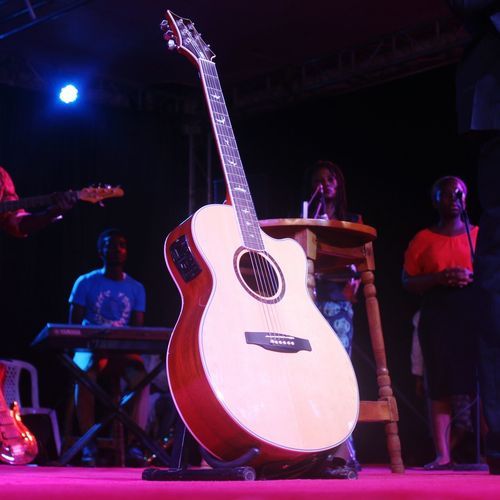 Music and life. Stagelights Stagephoto Guitar Music Musical Instrument Full Frame Colours