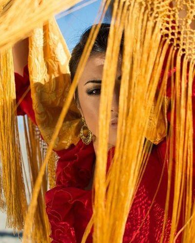 Portrait couture Flamenco Nikon Portrait Benalmádena CostadelSol Photography Fashion Portraitcouture