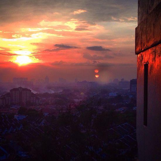 Malaysian sunset Whatislife Beautifulplanet