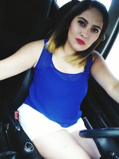 Selfie ✌ Selfportrait Selfiestick Girly Shorthair Me Nd My Blondy Hair