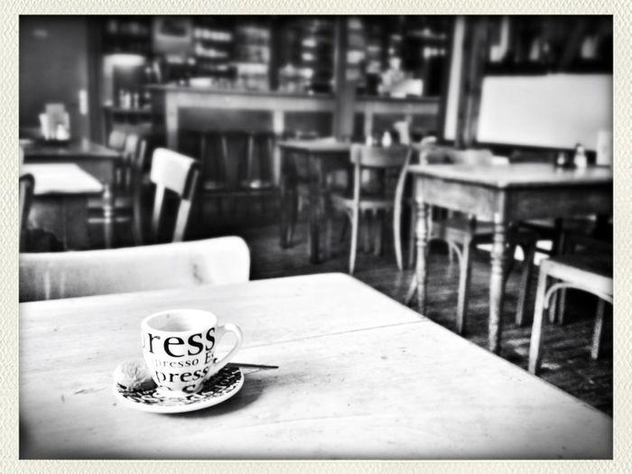 Kaffeepause Blackandwhite Bochum Taking Photos During Lunch Break