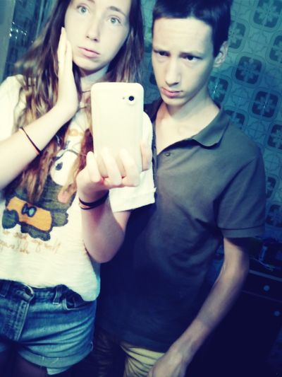 Me With My Brother Thats Me ♥ Hello World ❤
