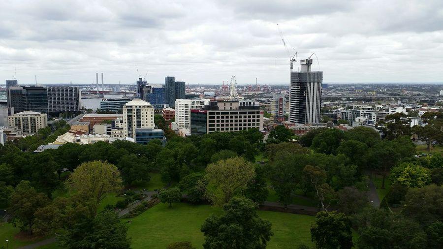 Flag staff gardens melbourne City Urban Skyline Melbourne City