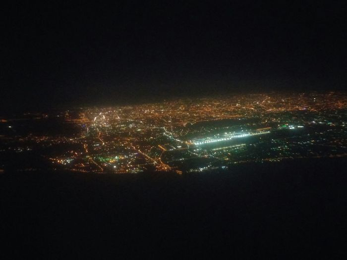 Thank you Keelung Taiwan for the hospitality. Back home after the long trip. Behind The Window Taking Off Overview Nightscape LG G3 Coming Home Cities At Night