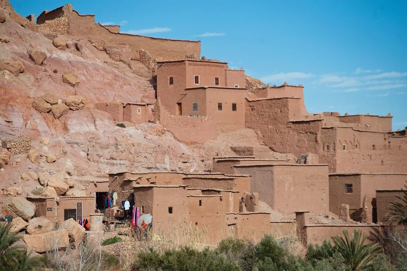 Ait Ben Haddou Kasbah. Architecture History Outdoors Travel Destinations Ancient Civilization Merzouga MoroccoTrip Africa Traditional Exploring Berberstyle Cityscape Berbervillage Built Structure Morocco Full Frame Village Home Local Landmark