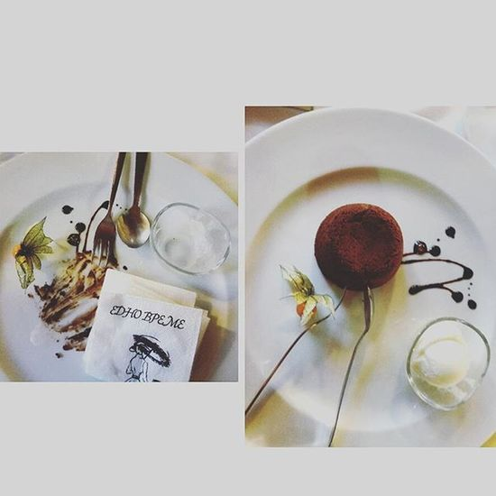 Bulgaria Instafood Meal Chocolate Icecream Souffle Karlovo Show Us Your Takeaway!