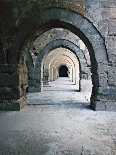 The Secret Spaces Ally Stone Secretway Architecture Arch Built Structure No People Indoors  The Way Forward Archway Day