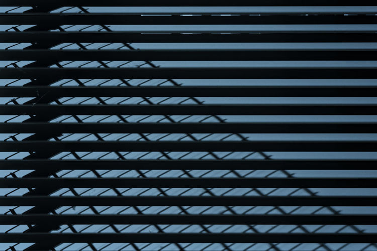 light and shadow Capture Tomorrow Pattern Architecture No People Built Structure Low Angle View Metal Repetition Full Frame Backgrounds Building Window Day Outdoors Silhouette Building Exterior Sky Nature Blinds Safety