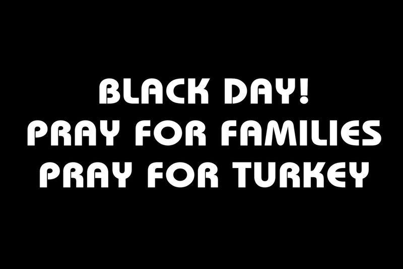 Blackandwhite Black And White People Pray For Turkey