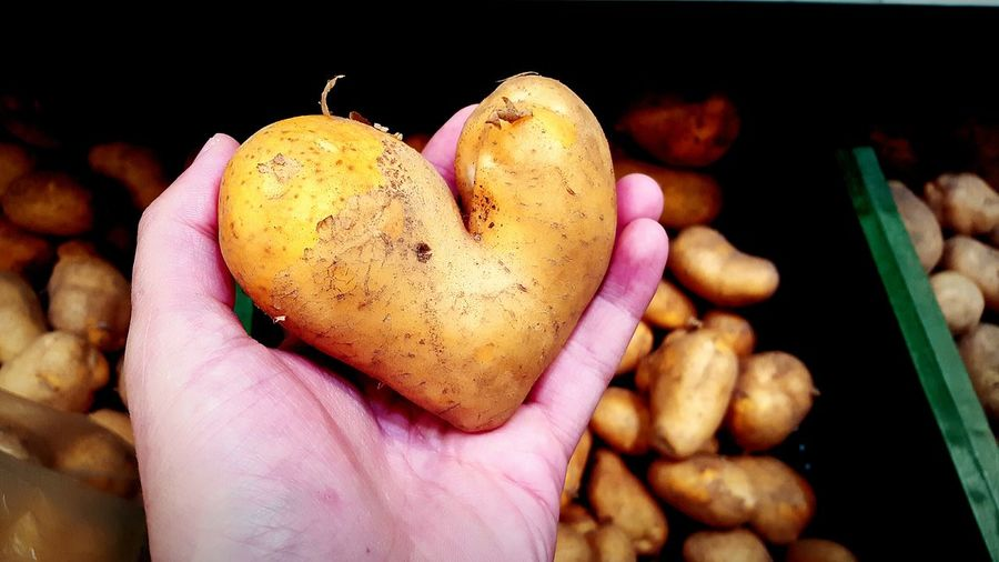 Business Stories Heart Heart Shape HeartStrong Potato Potatos Hand Heart On Hand Love Love In The Air Love In Nature Vegetable Vegetarian Vegetable Market Shop Shopping Time Food Color Of Life Nature Hello World Nature Photography In Poland Healthy Health Love Yourself