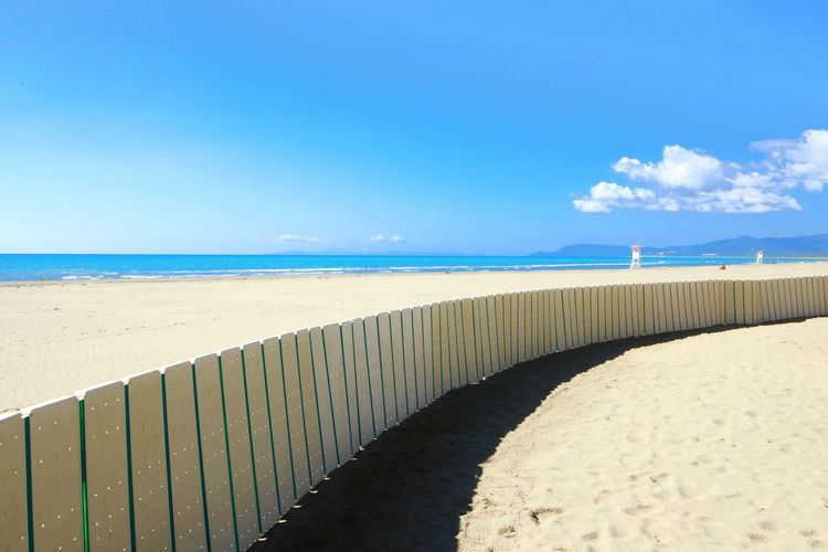Summertime Sun Beach Sandy Holydays Marina Di Grosseto