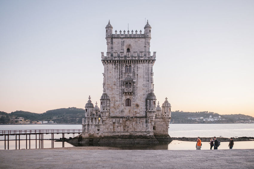 Belém Drone  Torre De Belém Travel Architecture Belem Tower Building Exterior Built Structure City Clear Sky Day Drohne Dronephotography Droneshot History Large Group Of People Leisure Activity Lisboa Lisbon Lissabon Luftaufnahme Men Nature Nautical Vessel Outdoors People Real People River Sky Tourism Travel Destinations Water