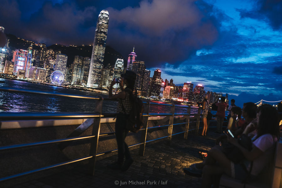 Hong Kong, June 2015. Architecture Blue Hour City City Life Cityscape Cloud - Sky Hong Kong HongKong Jun Michael Park Modern Showcase July Skyscraper Sony Street Streetphotography Tourism Travel Travel Photography Tsim Sha Tsui Urban Urban Geometry Urban Skyline Urban Exploration