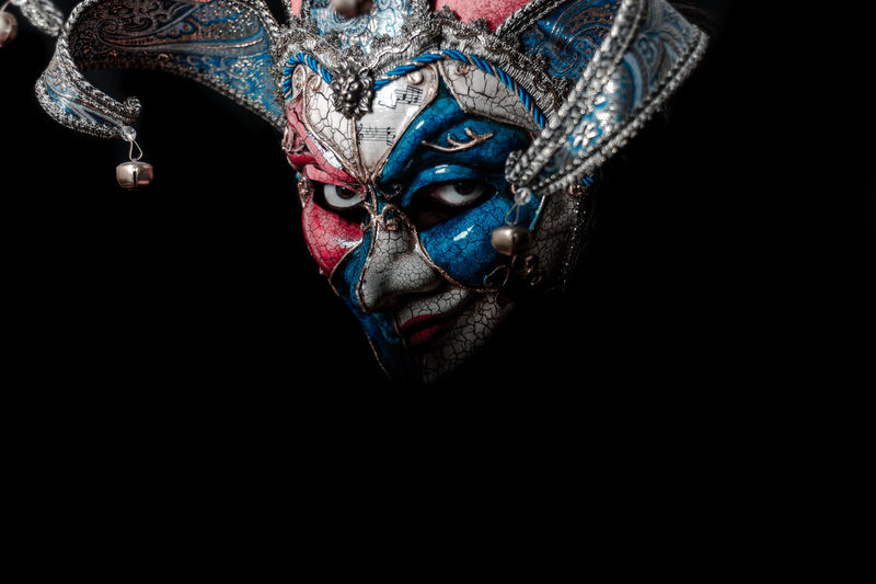 The Venice Mask #Mask #Scary #Venice #horror #smile Art And Craft Black Background Carnival - Celebration Event Close-up Dark Disguise Face Paint Headshot Make-up Mask Paint Portrait Studio Shot This Is My Skin Costume Mystery Human Face The Portraitist - 2018 EyeEm Awards EyeEmNewHere