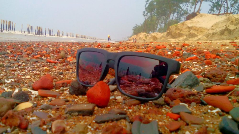 Beautiful sea beach! Finding New Frontiers