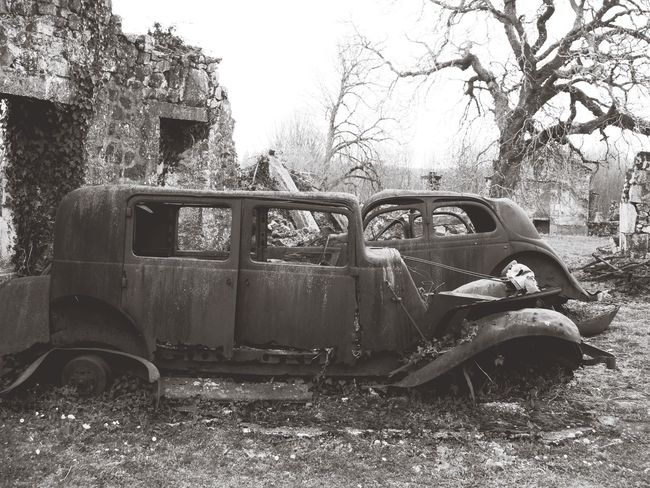 Rusty cars Rusty Car Rusty Cars Rusty Vintage Car Cars Rusted Away Corroded Abandoned Oradour Sur Glane