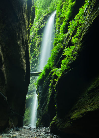 Canary Islands Filter Green Color Nikon Adventure Canyon Long Exposure Waterfall