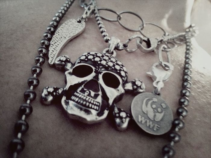 my bling bling Scull Wing Wwf Jewlery