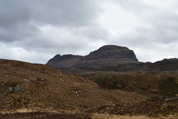 Scenic View Of Suilven Against Sky