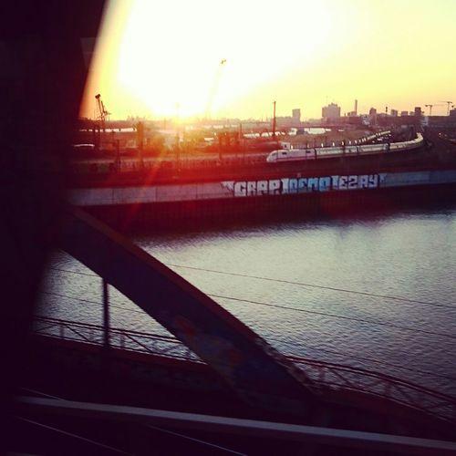 Hamburg Hammerbrook Sunset One Love First Eyeem Photo