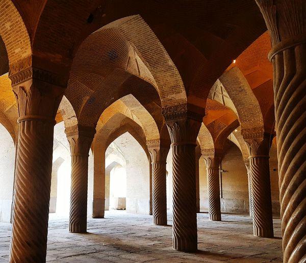 Iran♥ Architecture Buildings Vakil Mosque Iranan Architecture Shiraz, Iran Samsung Galaxy S6 Historical Building