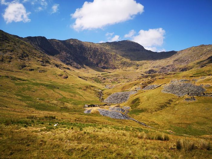 snowden Huaweiphotography Huawei P20 Wales Visitwales Snowdonia EyeEm Selects Mountain Sky Landscape Cloud - Sky Grass Mountain Range