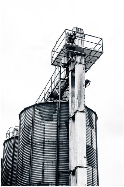 Industrial Grain Storage Hoppers At Beccles Airfield Beccles Airfield Ellough Grain Storage Industrial Tanks Architecture Beccles Black And White Building Exterior Built Structure Close-up Day Farming Grain Hoppers Industry Low Angle View Metal No People Outdoors Skydiving Storage Tanks Suffolk