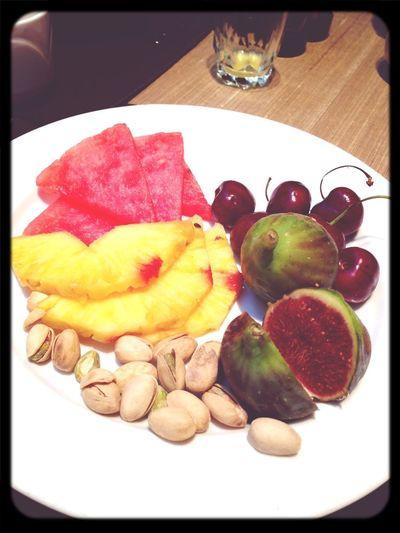 Eating Healthy Fresh Fruits Summer Lovin Breakfast