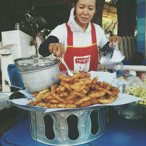 Fried Mashed Banana Banana Travel Laos Vientiane