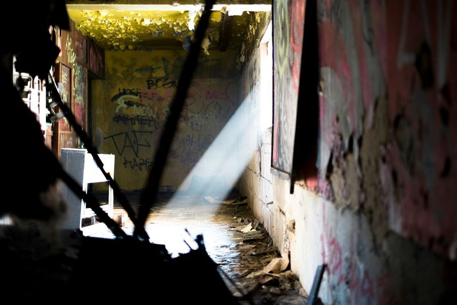Urban Decay Ray Of Light Abandoned Places Urban Exploration